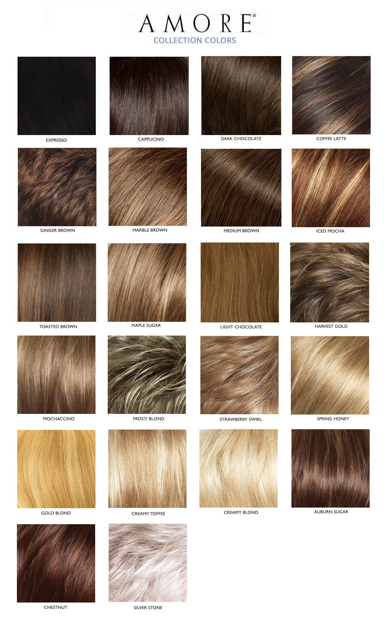 amore erin hair colors