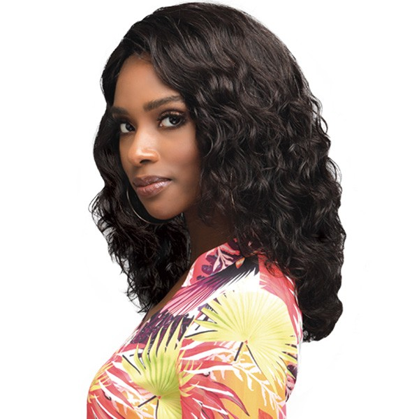 Mhlf905 Amerie 4 5 Deep Lace Part Lace Front 100 Virgin Remi Human Hair Wig Bobbi Boss