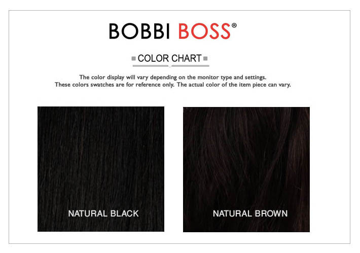 BOBBI BOSS NATURAL COLORS