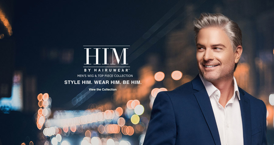 HIM MEN'S HAIR COLLECTION