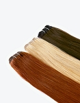 808 Exclusive® Straight Weft - 85g  (3oz.)  - Euro Textured Medium Fine Wefted  Cuticle Direction Human Hair - Professional Specialty