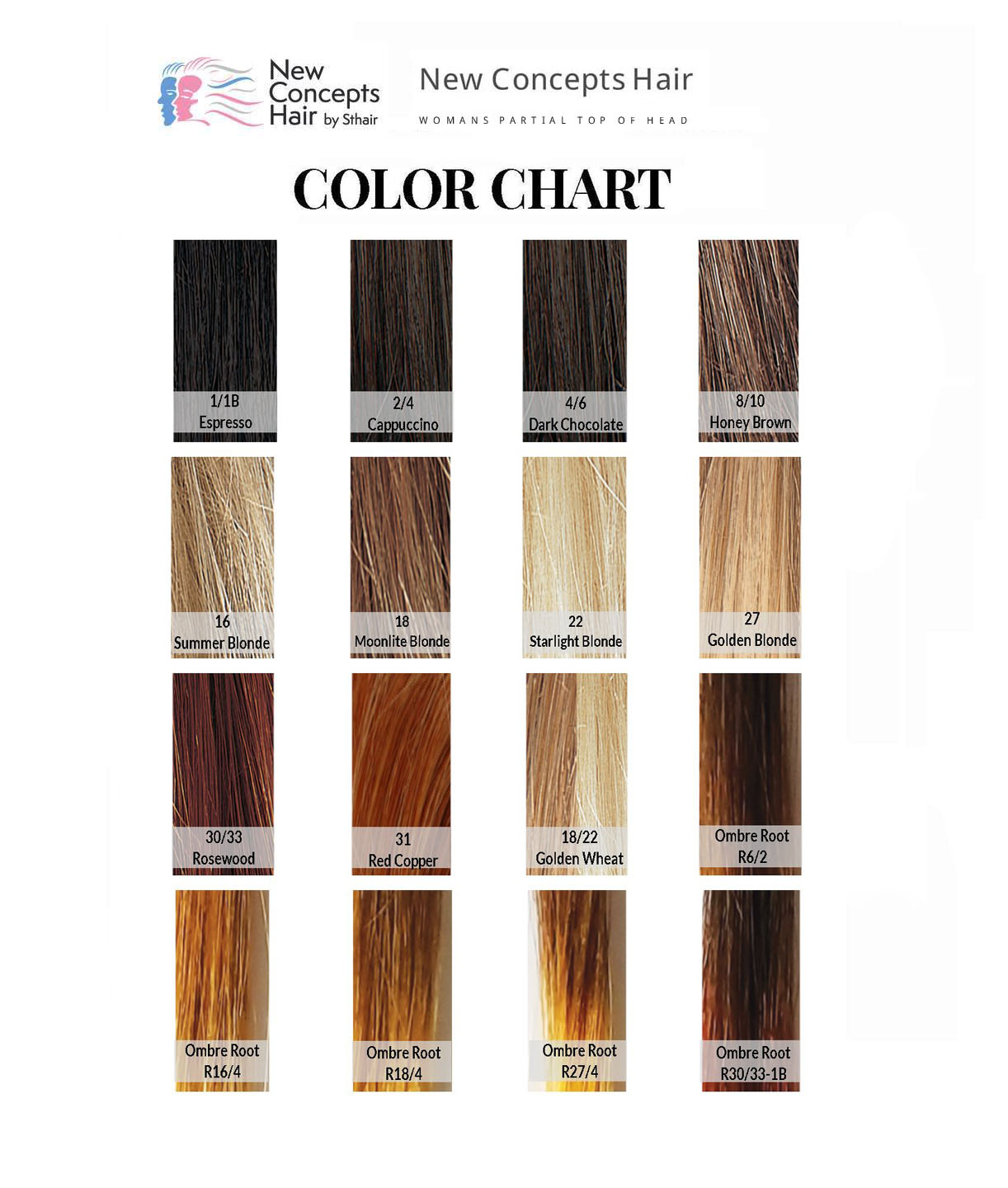 new concepts color chart
