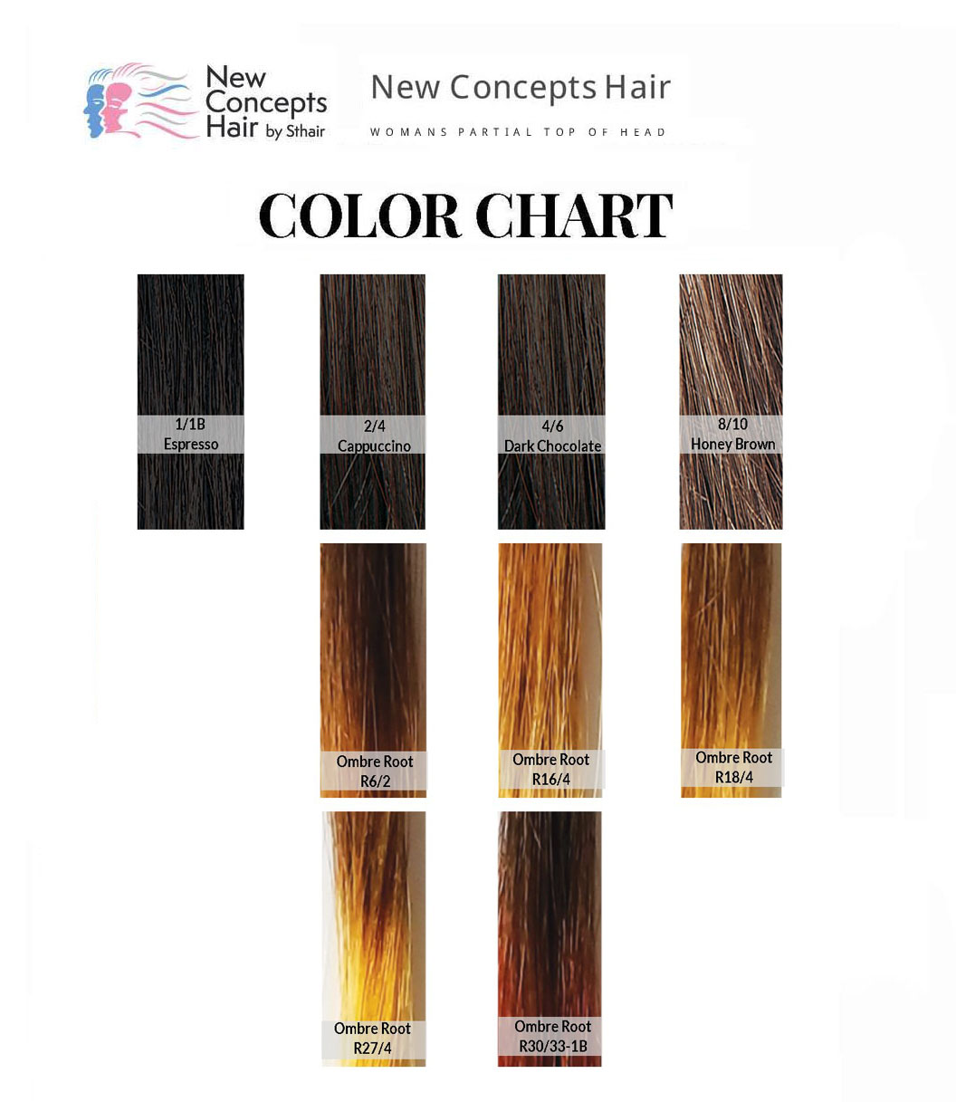 NEW CONCEPT COLOR CHART