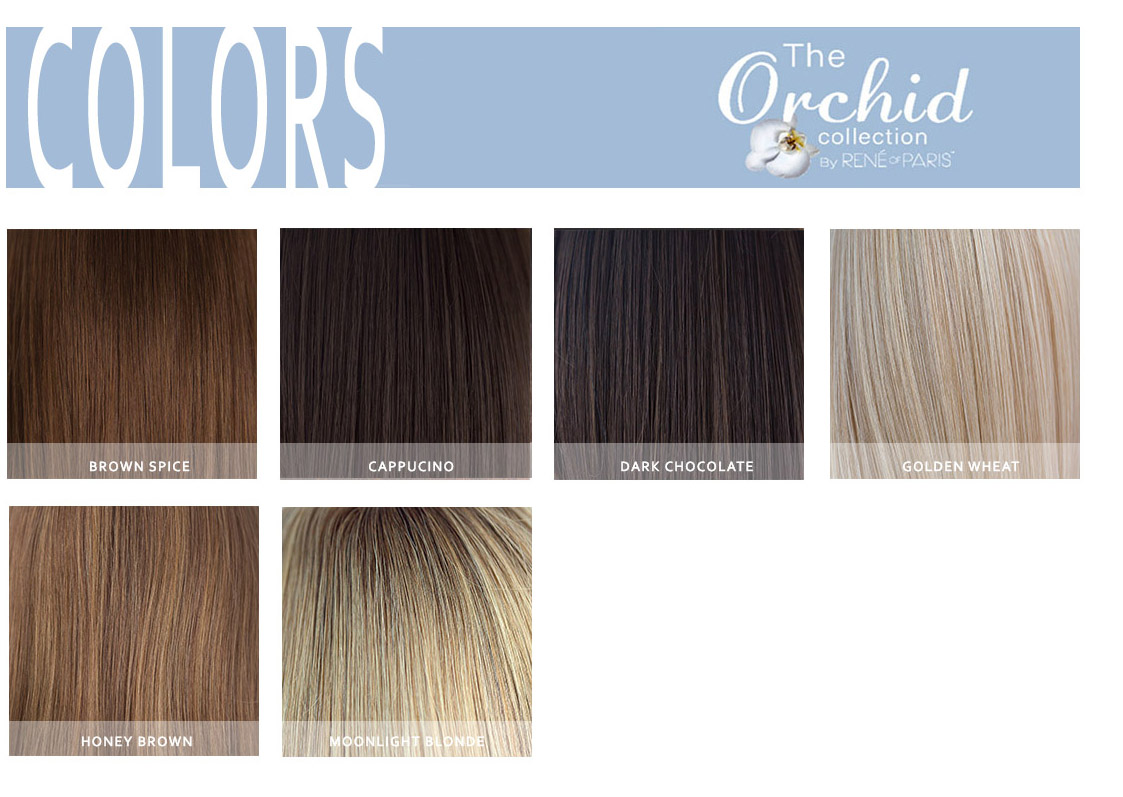 ORCHID HUMAN HAIR COLORS