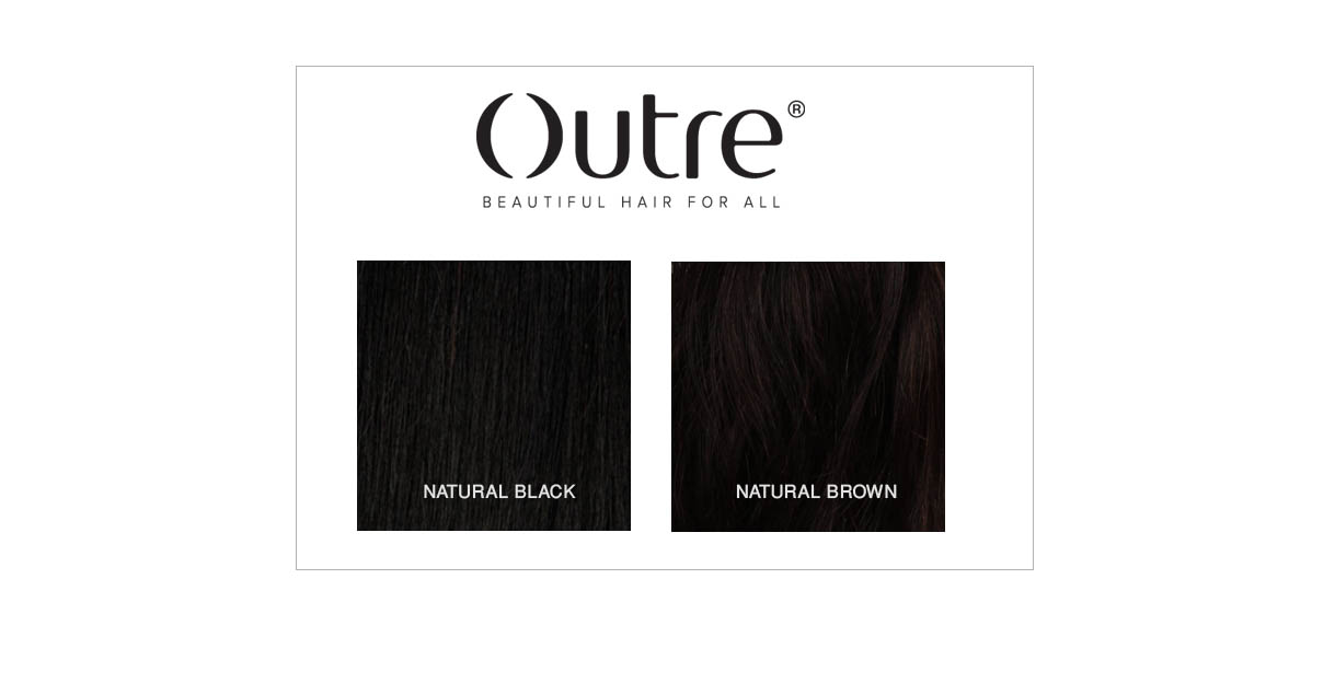 OUTRE HAIR COLORS