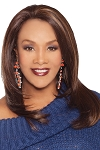 Celine - Futura Fiber Synthetic Hair Lace Front Wig - Vivica Fox