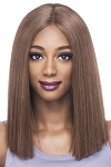 Lilly - Natural Baby Swiss Lace Front Wig - Yaki Textured Synthetic Hair Wig - Vivica Fox