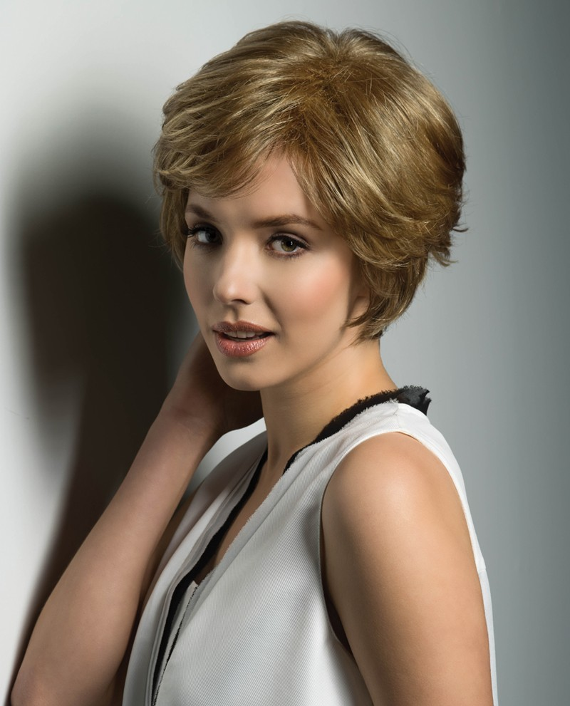 Mono Wiglet 36LF - Monofilament Lace Front Line Toppiece w/Clips - Synthetic Hair - Estetica - SPECIALTY PRODUCT