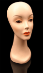 Wig Display Long Neck Mannequin - 16