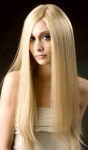 Cathy Long - Fine European Textured Human Hair Monofilament Wig -  Professional Specialty Item - Isenberg Luxury Collection