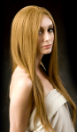 April Lace - Fine European Textured Human Hair Handmade Wig Lace Front Wig -  Specialty Item - Isenberg Luxury Collection