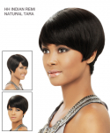 HH TARA - Remi Indian Natural Dual Side Part - 100% Remi Human Hair Wig - It's A Wig