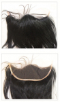 Salon Look Hand Tied Lace Frontal Hairline Replacement - 100% Remi Human Hair - Custom -  Professional Specialty - Salon Look