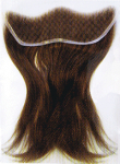 Just Extra Lace Yaki Relaxed Texture - Front Hairline Replacement Unit (Length - 10-12