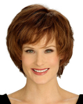 7033 - Carly Wig - Louis Ferre New Monosystem® Illusion Front® Wig - Synthetic Hair Wig