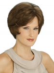 6002HM - Hillary - Louis Ferre New Monosystem® Illusion Front Fully Hand-Tied Cap - Performance Synthetic Hair Wig