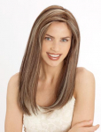 PLF005HM - Louis Ferre - Monosystem® Illusion Lace Front® w/Handtied 100% Human Hair - Platinum Lace Collection