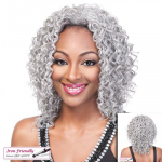 Lucy - Heat Friendly Synthetic Hair Half Wig - Its A Wig