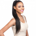 Brazilian Silky Straight - Human Hair Ponytail - Salon Remi - 100% Human Hair Ponytail - Its A Wig