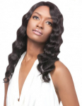 Brazilian Natural Deep Lace Front Wig - 100% Unprocessed Human Hair - Simply Brazilian - Outre