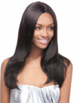 Brazilian Natural Straight Lace Front Wig - GRD4 - 100% Unprocessed Human Hair - Simply Brazilian - Outre