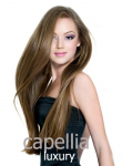 Capellia Fine Luxury Weft - Fine Indo Euro Texture Silky Straight Weave - Length - GRD5+ - 100% Human Hair - Hair Couture - PROFESSIONAL SALON PRODUCT