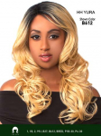 Yura- Human Hair Blend Lace Front Wig - The Wig