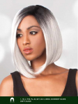 Nicki - Human Hair Blend Lace Front Wig - The Wig