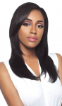 Brazilian Natural Straight Half Wig - GRD4 - 100% Unprocessed Human Hair - Simply Brazilian - Outre