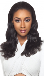 Brazilian Natural Body Wave Half Wig - GRD4 - 100% Unprocessed Human Hair - Simply Brazilian - Outre