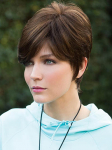Wendy - Double Monofilament Top Synthetic Hair Wig - Amore Collection