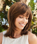 Marie - Double Monofilament Top Synthetic Hair Wig - Amore Collection