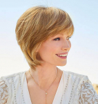 Dylan - Double Monofilament Top Synthetic Hair Wig - Amore Collection
