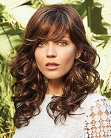 Brittany 2538 - Monofilament Top Synthetic Hair Wig - Amore