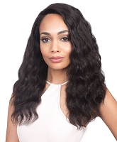 MHLFU Evelyn 360° 100% Virgin Brazilian Remi Human Hair Lace Front Wig Wig - Bobbi Boss