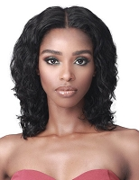 Bobbi Boss Alanis MHLF604 Lace Front Human Hair Wig