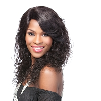Remi Natural Curl Lace Front Wig - 100% Human Hair Wig - Supreme
