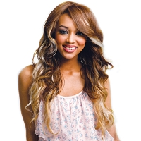 Ultima® Prota Body Wave - 8Pcs. Clip On Extensions - Heat Style Synthetic Fiber Hair - Supreme