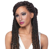Jumbo Senegal Twist - Synthetic Braiding Hair - 14
