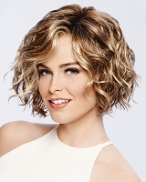 Sweet Talk - Temple to Temple Lace Front Monofilament Top Synthetic Hair Wig - Gabor