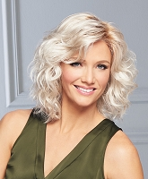 Curl Up - Temple to Temple Lace Front  Open Weft Top - Synthetic Hair Wig - Gabor