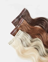707® Skinny Clip-In  Hair Extension Weft - 100% Remi Human Hair Clip On - Single Piece - GRD5 - Professional Specialty Product