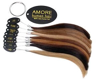 Amore 9512 - Human Hair Color Swatches - Amore
