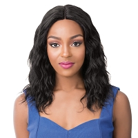 HH S Wet N Wavy Pacific Wave Lace Front Wig - 100% Remi Human Hair Wig - Salon Remi - It's A Wig