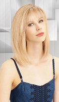 Louis Ferre Topaz 9010  Monosystem Human Hair Wig - Monosystem® Illusion Front® - Precious Gem Collection