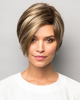 Izzie 1668 - Traditional Stretch Cap Synthetic Hair Wig - Unisex Cut - Rene of Paris - Noriko Collection