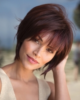 Rees 1703 (Large Cap) - Traditional Stretch Cap Synthetic Hair Wig - Rene of Paris - Noriko Collection