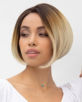 Fabulous 4101 - Lace Front U-Shape Part Synthetic Hair Wig -  Rene of Paris - Orchid Collection