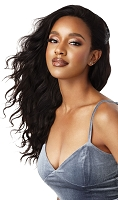 Outre Loose Body Human Hair Lace Wig - 100% Fully Hand-Tied Lace Wig - Outre