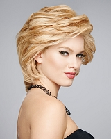 Applause - Lace Front Monotfilament Top Hand-Knotted Base - 100% Human Hair - Raquel Welch